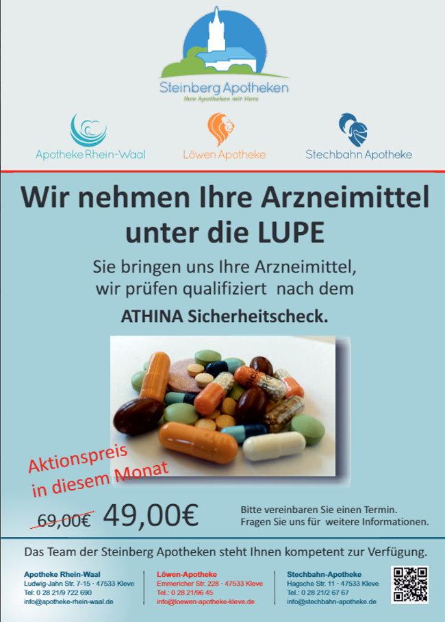 Acties in Löwen & Stechbahn Apotheek